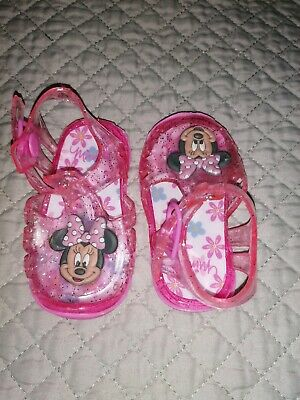 Minnie mouse Sandals 3-6 months
