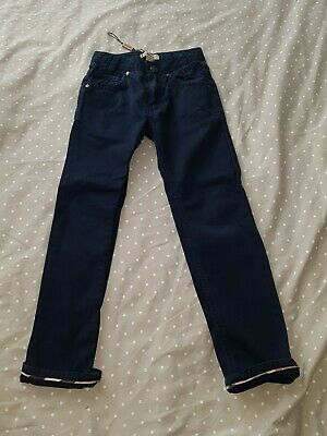 Boys Genuine Burberry Chinos In Age 6
