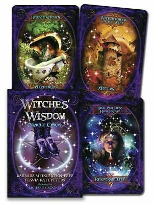 Witches' Wisdom Oracle Cards Wiccan Pagan Metaphysical