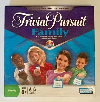 Trivial Pursuit Family Board Game 25th Anniversary Edition Celebrating Complete