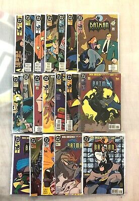 The Batman Adventures - Comic Book Lot (19 books)
