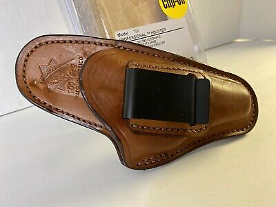 Bianchi 100 Leather Holster IWB RH Fit Walther PP PPK PPK/S Sig P320 84B Cheetah
