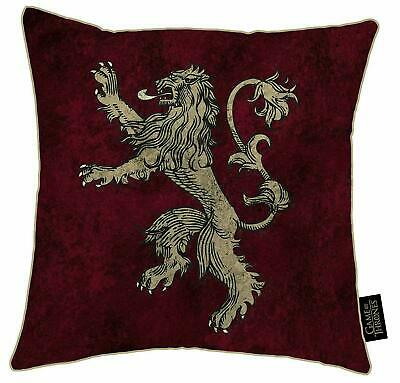 Game of Thrones Lannister Cushion 38cm x 38cm Christmas Stocking Filler Gift