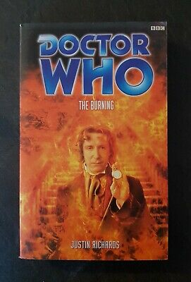 Doctor Who BBC EDA - THE BURNING by Justin Richards