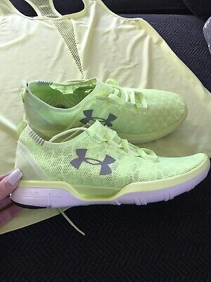 Under Armour Coolswitch Neon Sneakers  Sz 9.5 Light Packable NEW W/ Match Tank