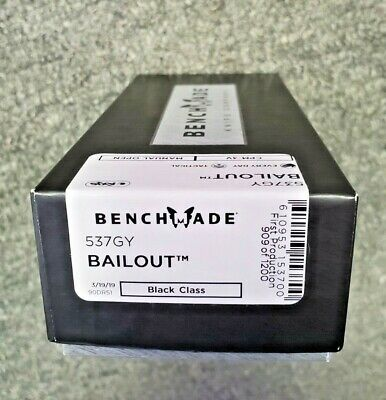 Benchmade Bailout 537 #909
