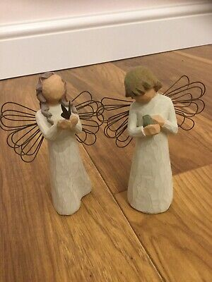 Willow Tree Angel Of Freedom Angel Of Healing Figure Figurines Collectable