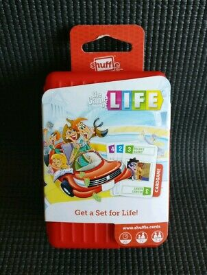 THE GAME OF LIFE Fun Family Party Travel Card Game by Shuffle NEW
