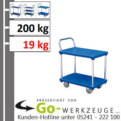 Durable Plastic Car Floor , Load Capacity 200 kg, with 2 Ablage-Ebenen