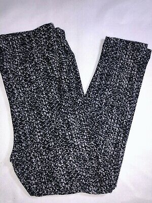LuLaRoe BWC Kids Leggings S/M Small Medium NWT Black & Grays