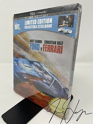 Ford v Ferrari [SteelBook] (4K Ultra HD + Blu-ray + Digital) PreSale