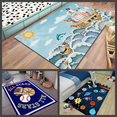 Area Rug Play Carpet Classroom / Nursery For Toddle And Kids Many Bright Colors