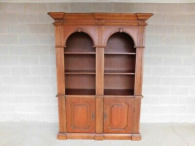 Double Arched  Open Bookcase 56w