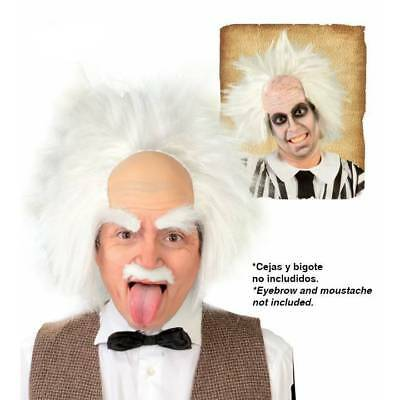 Fou Nutty Professeur Einstein Perruque Beetlejuice Déguisement Halloween