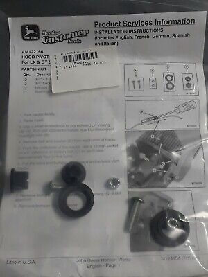 AM122166 John Deere OEM Hood Hinge Repair Kit