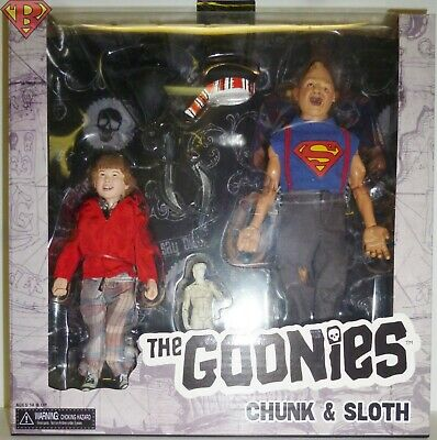 """The Goonies Sloth /& Chunk 2 Pack 8/"""" Clothed Action Figures NECA IN STOCK!"""
