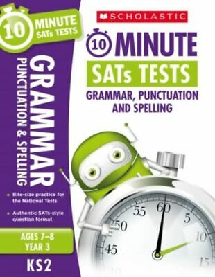 10 Minute SATs Tests Grammar Punctuation and Spelling  Year 3  H4