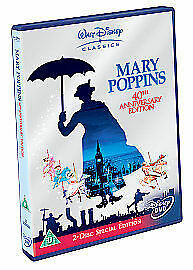 Mary Poppins - 2 Disc 40th Anniversary Special Edition Disney DVD FAST FREE P&P