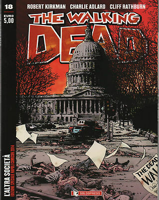 The Walking Dead n.18 Variant Napoli Comicon 2014 + Cartolina - Nuovo