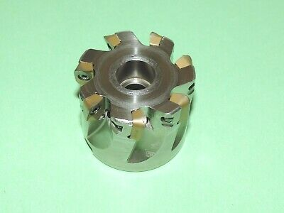 """SECO 2"""" Super Turbo Face Milling Cutter w/ Inserts (R220.69-02.00-12-7AN)"""