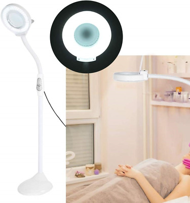 5X Magnifying Lamp, LED Cold Light- Nail Manicure, Tattoo, Eyebrow Shape, Floor