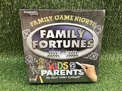 Family Fortunes Kids Vs Parents Board Game Family Fun Quiz Questions Trivia