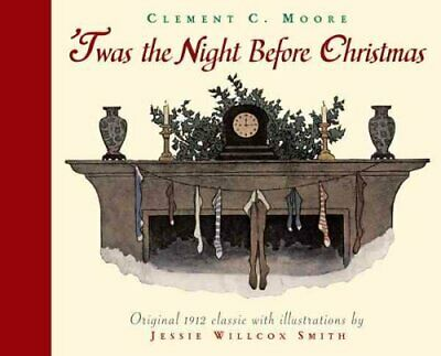 Twas the Night Before Christmas by Jessie Smith 9780618615100 | Brand New