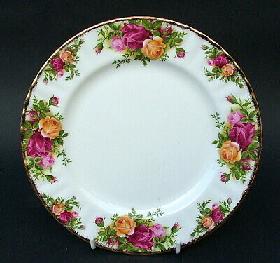 Royal Albert 1962 Old Country Roses Salad Plates 20.5cm Good Quality Look in VGC