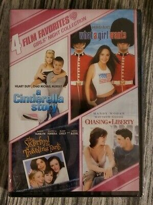 Girls Night Out 4-Film Favorites Collection (DVD 2-Disc) Mandy Moore -New SEALED