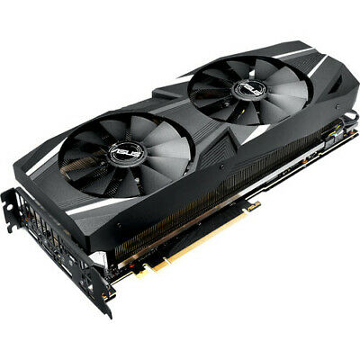 ASUS GeForce RTX 2080 8GB GDDR6 DUAL-RTX2080-8G Video Graphics Card GPU
