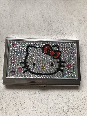 Hello Kitty Sparkling Card Case In Great Condition free post