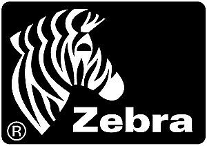 Zebra Direct 1100 Matte permanent rubber adhesive perforated white 800283-205