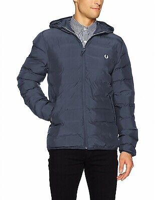 Fred Perry Jacke Hooded Panelled Brentham J5515 A25 Rich Red Für Herren  7474