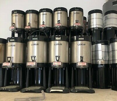 Fetco Luxus L3D-15 Thermal Coffee Server Pair Used Many Available