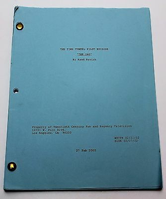 THE TIME TUNNEL / Rand Ravich 2002 Pilot TV Series Episode Script