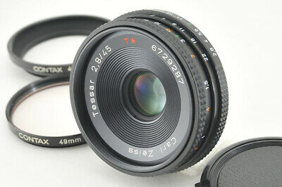*Excellent+++* Contax Carl Zeiss Tessar 45mm f/2.8 AEJ from Japan #3923