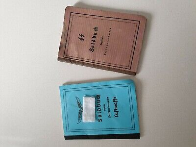 World War Two Paybooks WW2 German