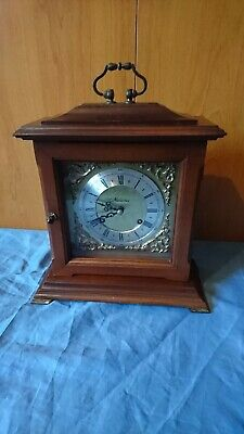 A Traditional Striking Mantel Clock By Franz Hermle