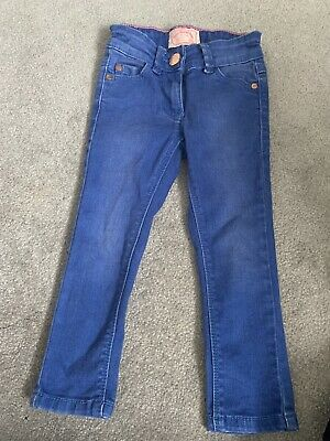 Next Girls Skinny Jeans Blue 3 Years