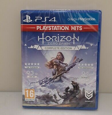 Horizon Zero Dawn Complete  Sony Playstation 4 Ps4 Brilliant New Sealed