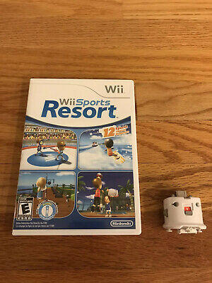 Nintendo Wii Sports Resort Game With Motion Plus Adapter COMPLETE. Ships Fast!