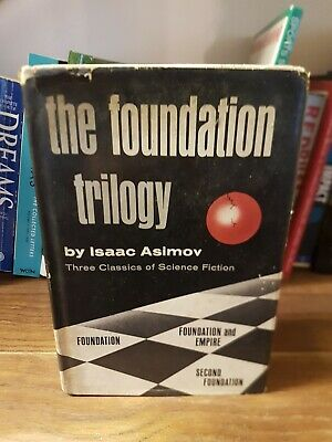 The Foundation Trilogy, Isaac Asimov (Doubleday 1951)
