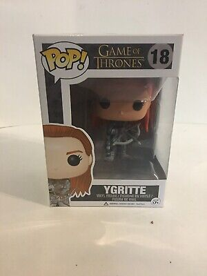 Funko Pop Game Of Thrones Ygritte #18 with Pop Protector
