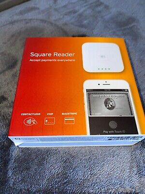 SQUARE CARD READER Contactless Chip Reader Magstripe Reader and Charger