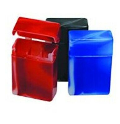 Plastic Marbles Design Kings Cigarette Case With Compartment 3 Pack