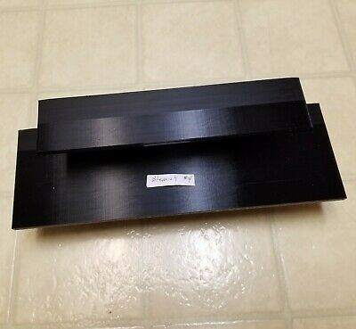 Blemish #4 --- 2-Tier 12 inch Black Funko Pop! Display Shelf With Shift in Gloss