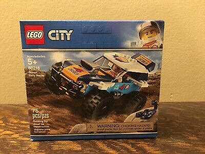 LEGO City Great Vehicles Desert Rally Racer 60218 Building Kit (75 Piece)