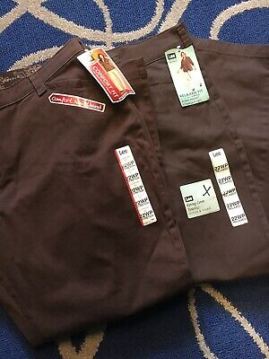 2 NEW Pairs Of Lee Pants - Size 22WP