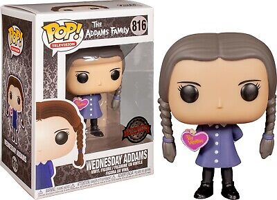 The Addams Family - Wednesday Valentine's Day Heart Funko Pop! ***PRE-ORDER**