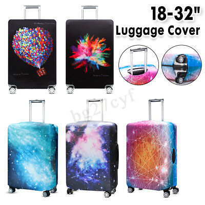 """Graffiti Style Travel Luggage Suitcase Cover Protector Trolley Case Cover 18-32"""""""